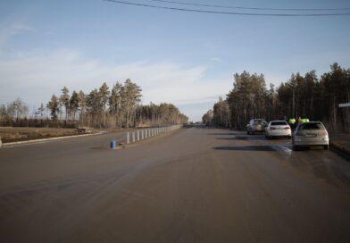 Евгений Григорьев проинспектировал ход работ на Окружном шоссе