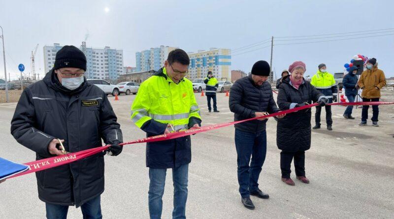 В Якутске официально открыли улицу имени Ивана Кульбертинова